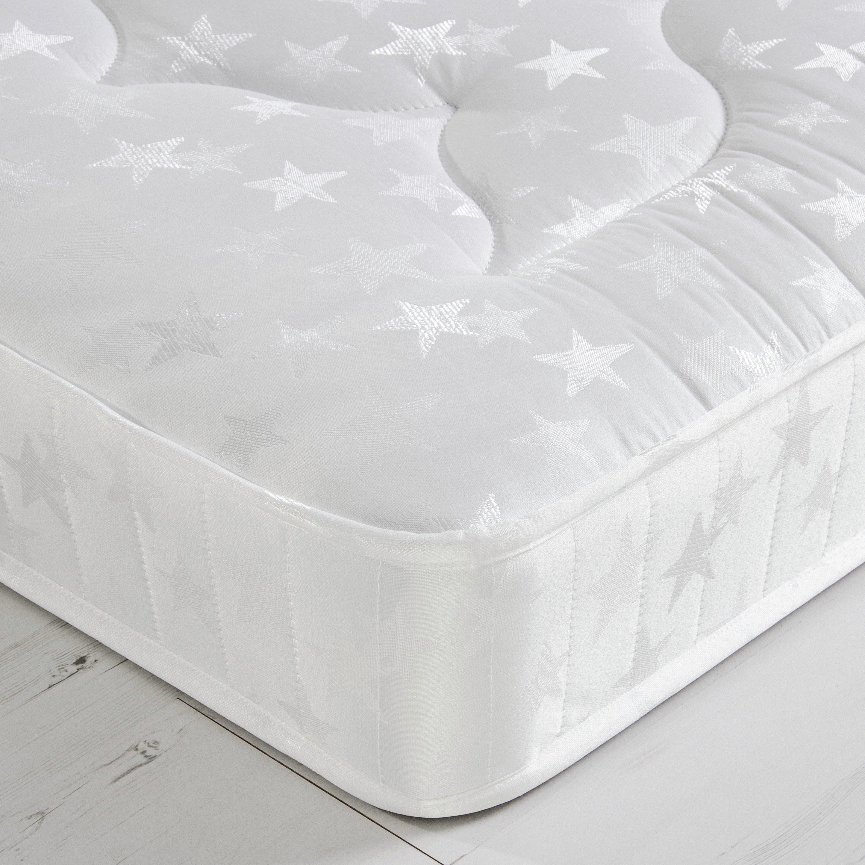Image of Airsprung - New Elliott Comfort - Single Mattress - White