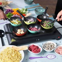 Swan - Party Wok - SF23010CDWM Come Dine with Me