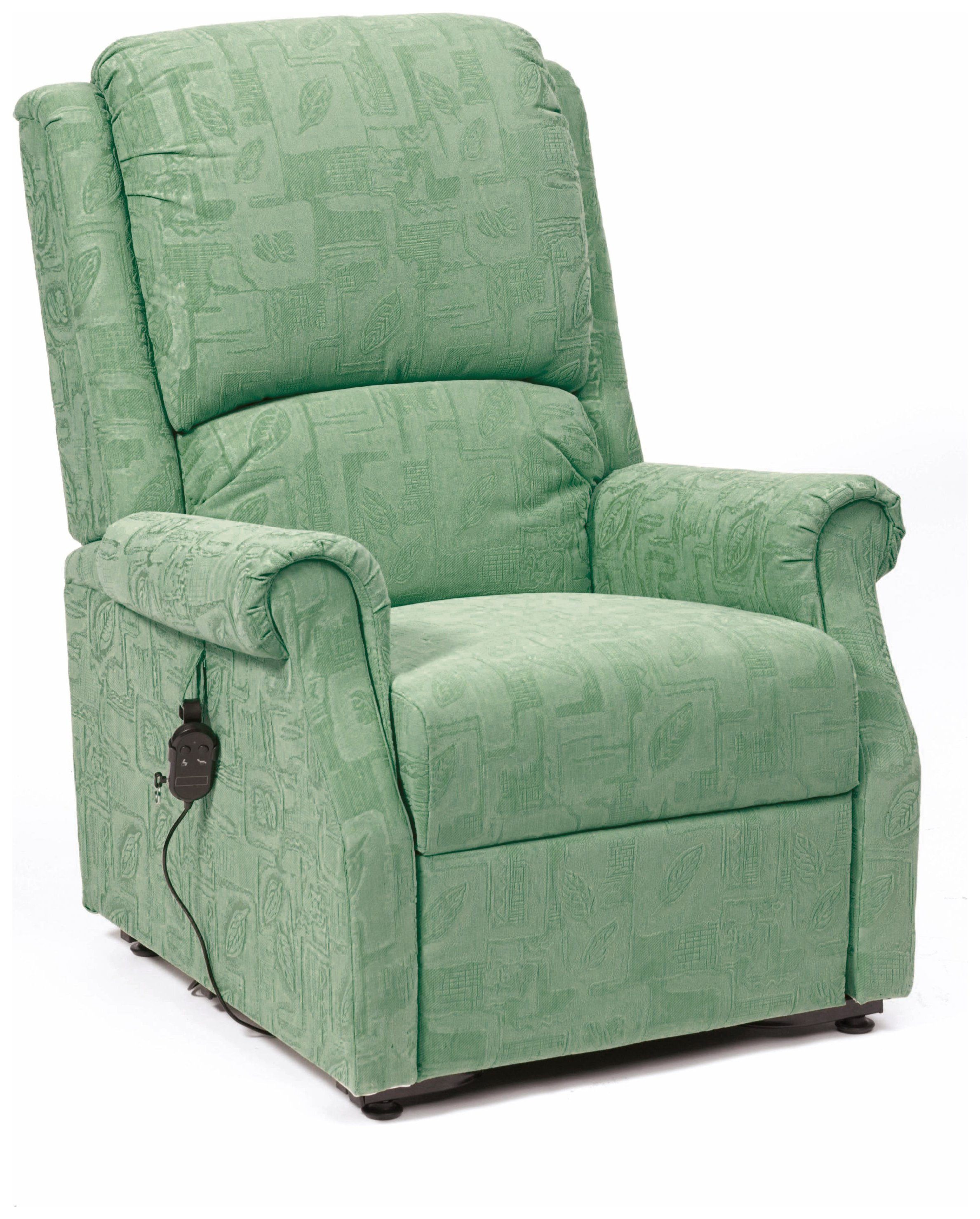 Image of Chicago Riser Recliner Chair with Single Motor - Green.