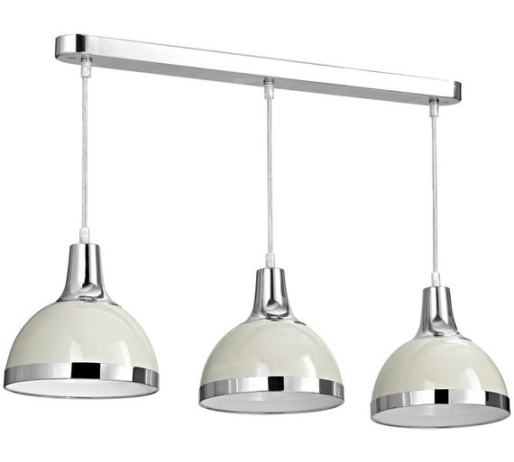 Buy Vermont Pendant Light With Clay Shades At Argos.co.uk