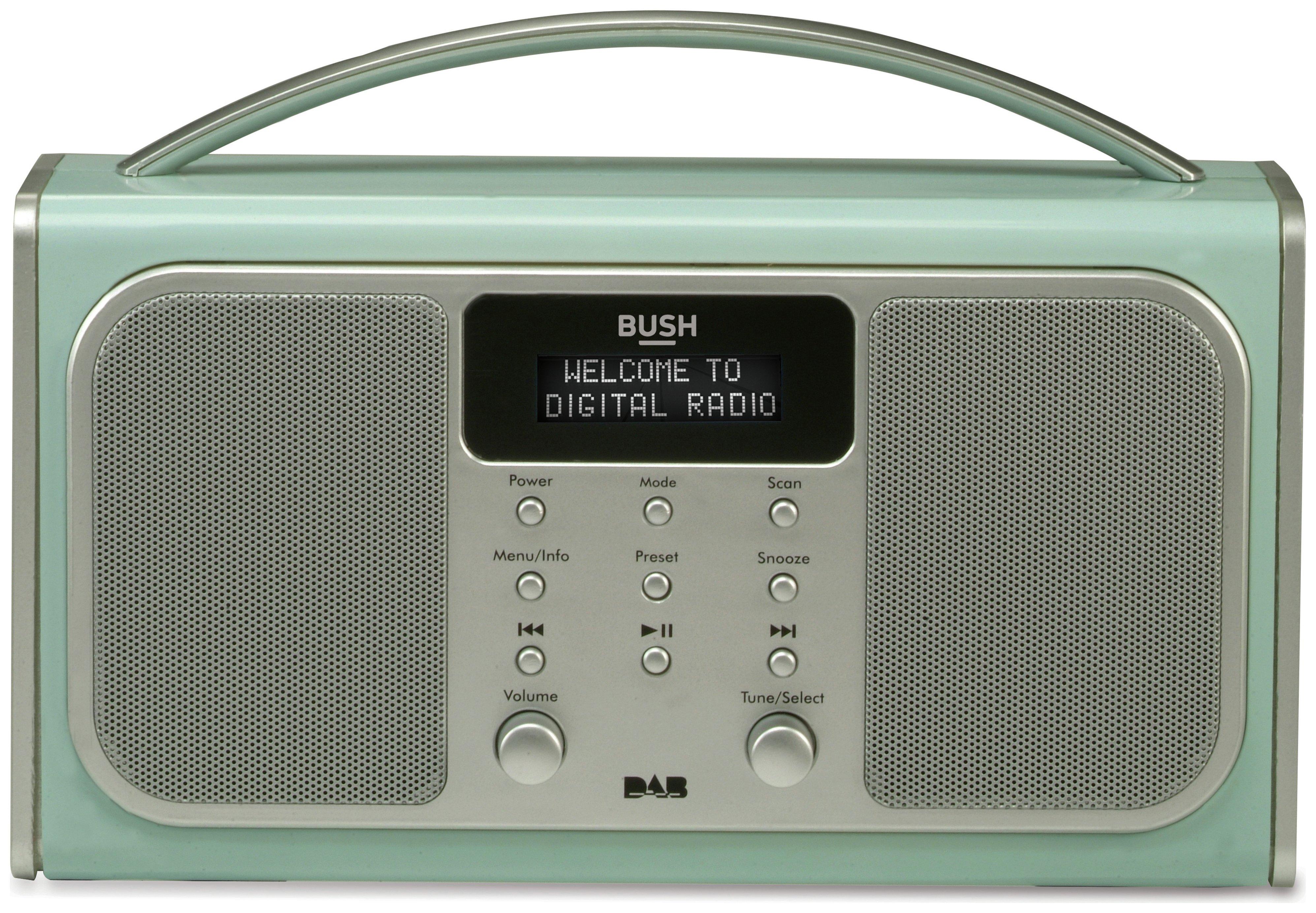 Bush Bluetooth DAB Radio - Blue.