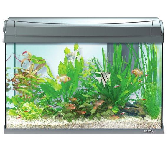 Buy tetra aquaart ii 60 litre aquarium graphite at argos for Decoration aquarium 60 litres