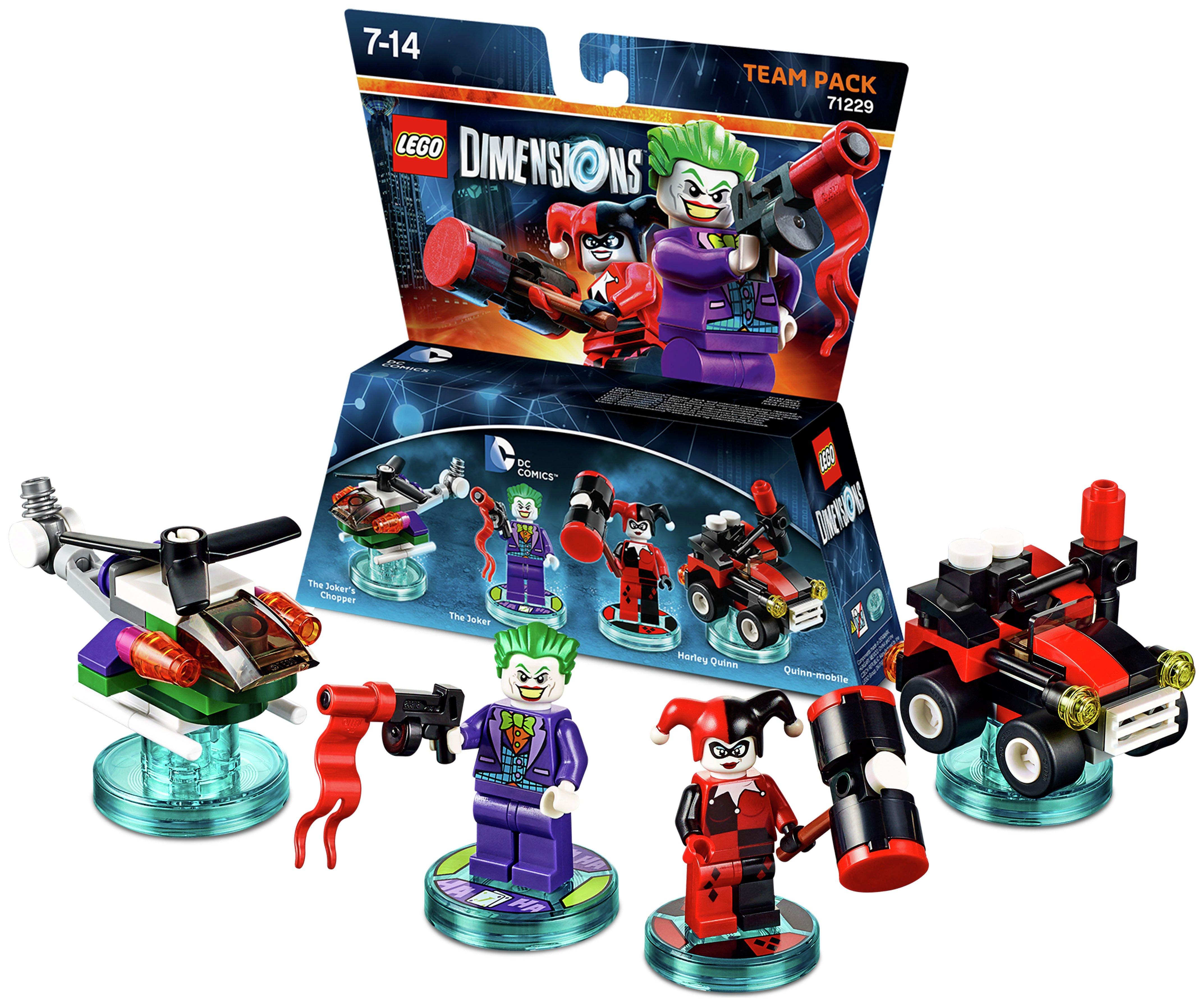 Buy LEGO Dimensions Joker and Harley Team Pack   Lego Dimensions   Argos