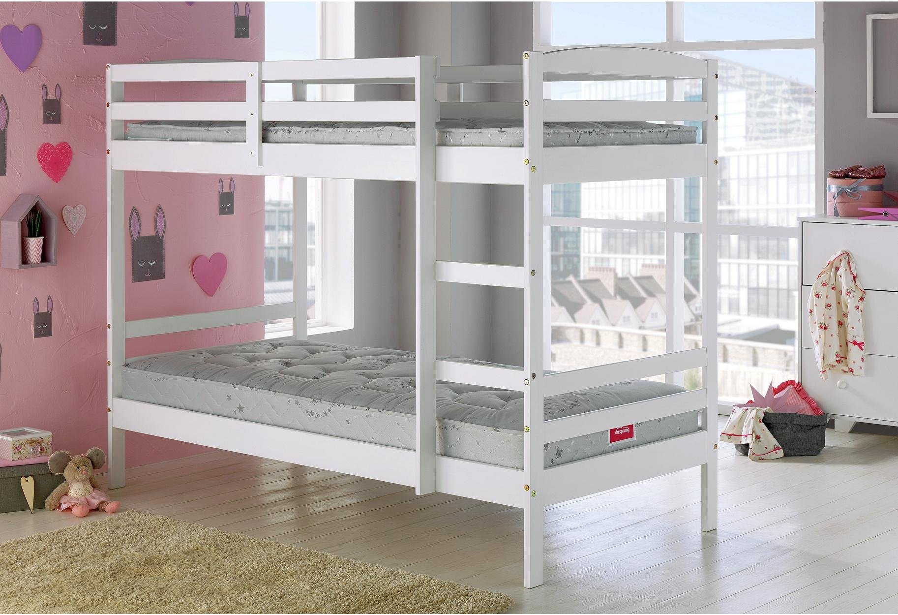 Bunkbed Pictures buy home josie single bunk bed frame - white at argos.co.uk - your