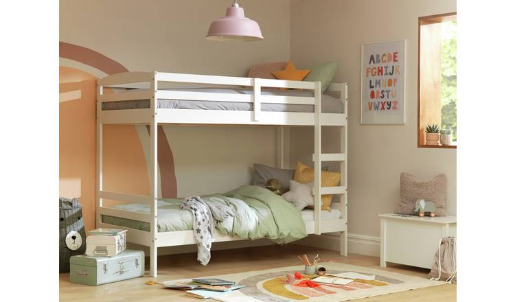 Buy Argos Home Josie White Single Bunk Bed Frame Kids Beds Argos