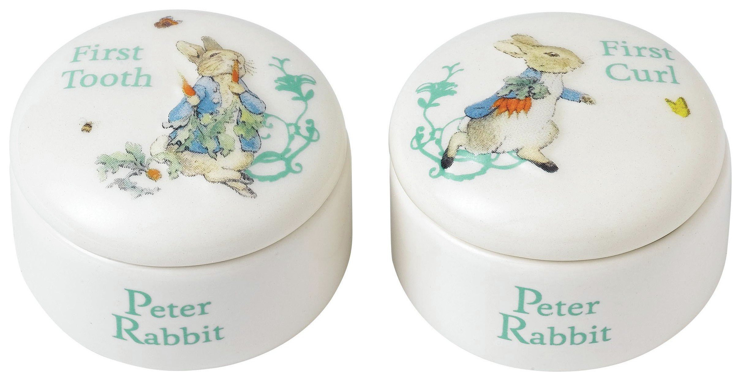 Image of Beatrix Potter Peter Rabbit First Tooth and Curl Box.
