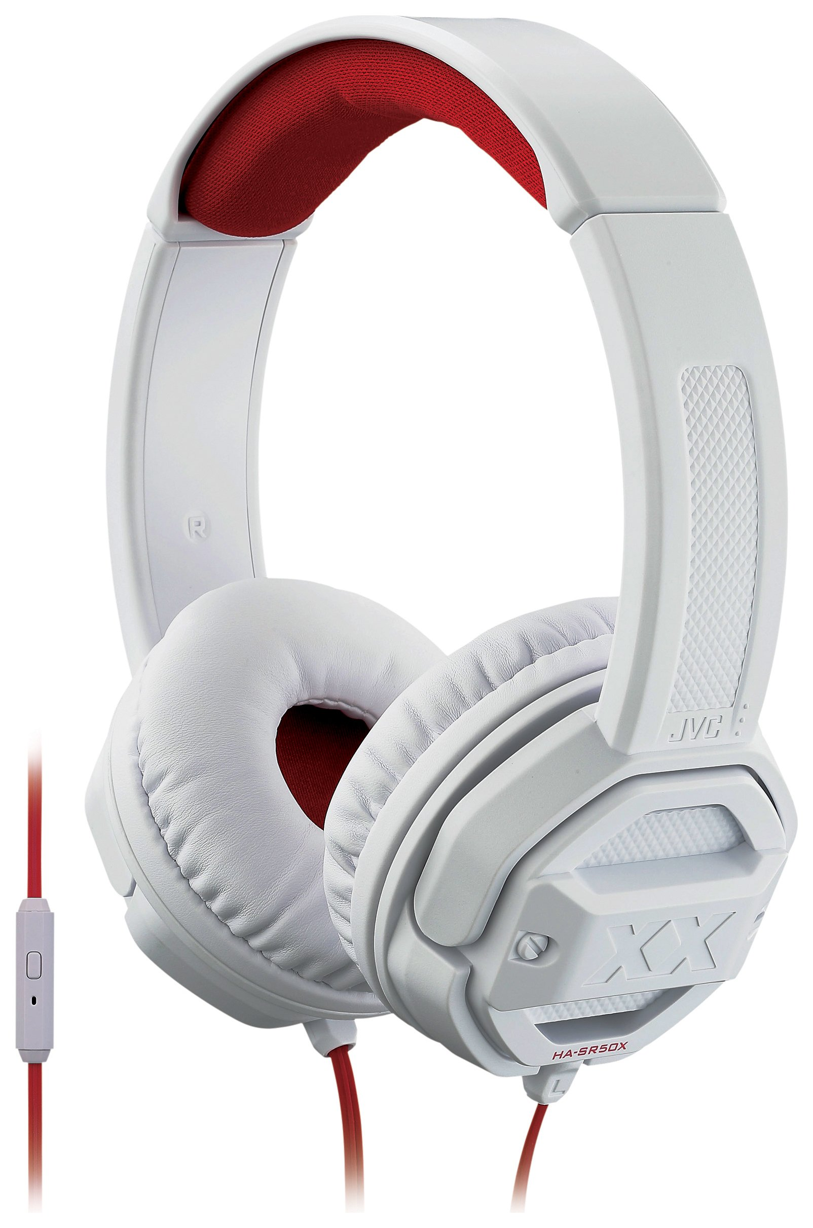 JVC Xtreme Xplosives HA-SR50X Over-Ear Headphones - White
