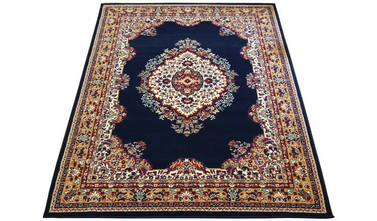Maestro Traditional Rug - 120x170cm - Navy.