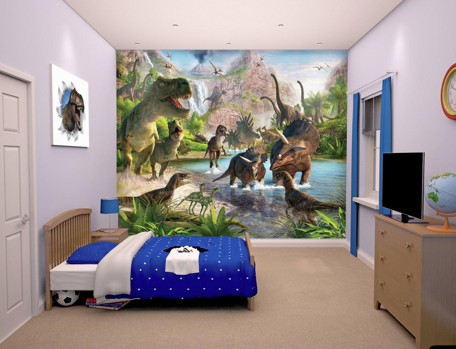 Walltastic Dinosaur Land Wall Mural