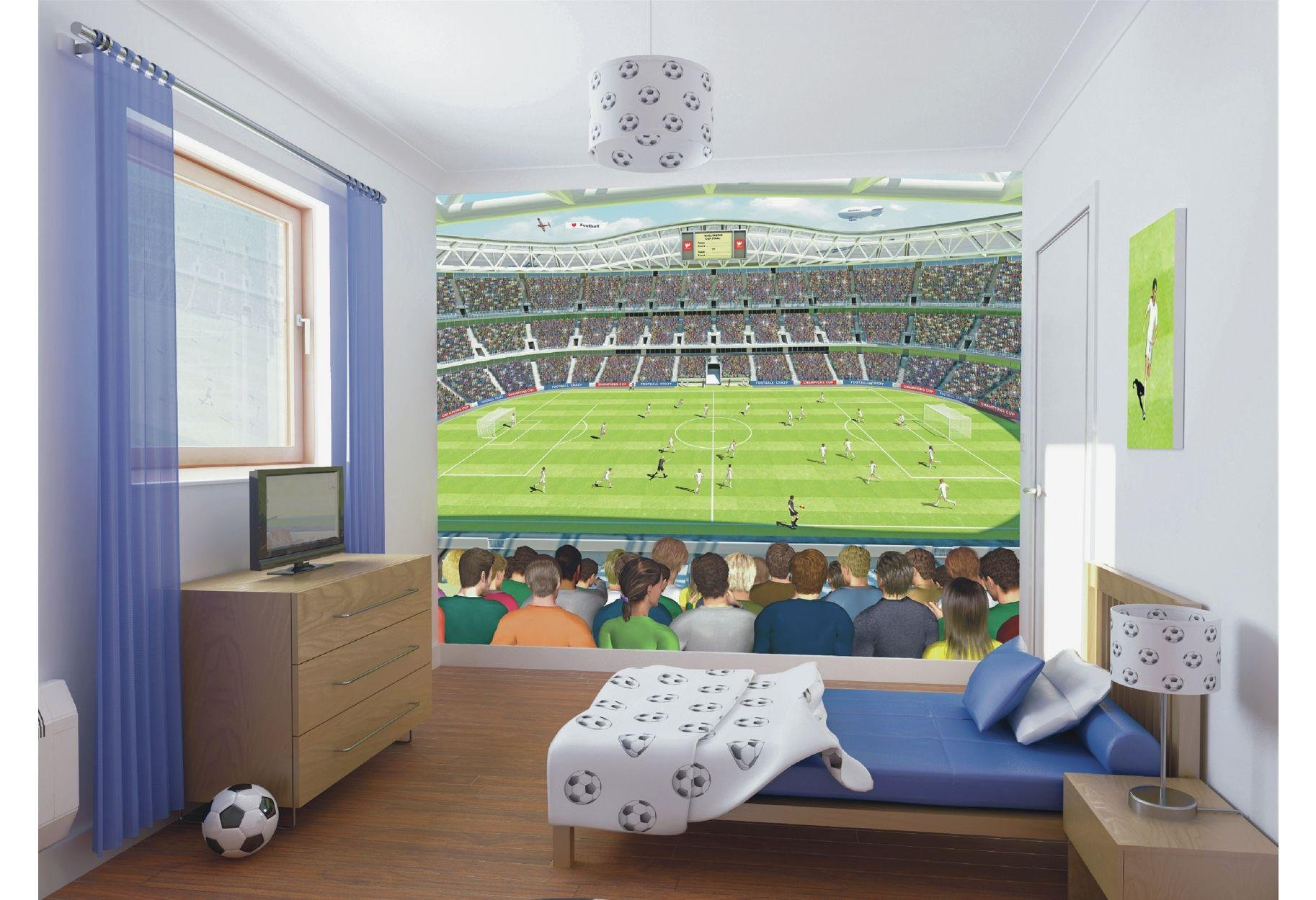 Football Wall Murals buy walltastic football crazy wall mural at argos.co.uk - your