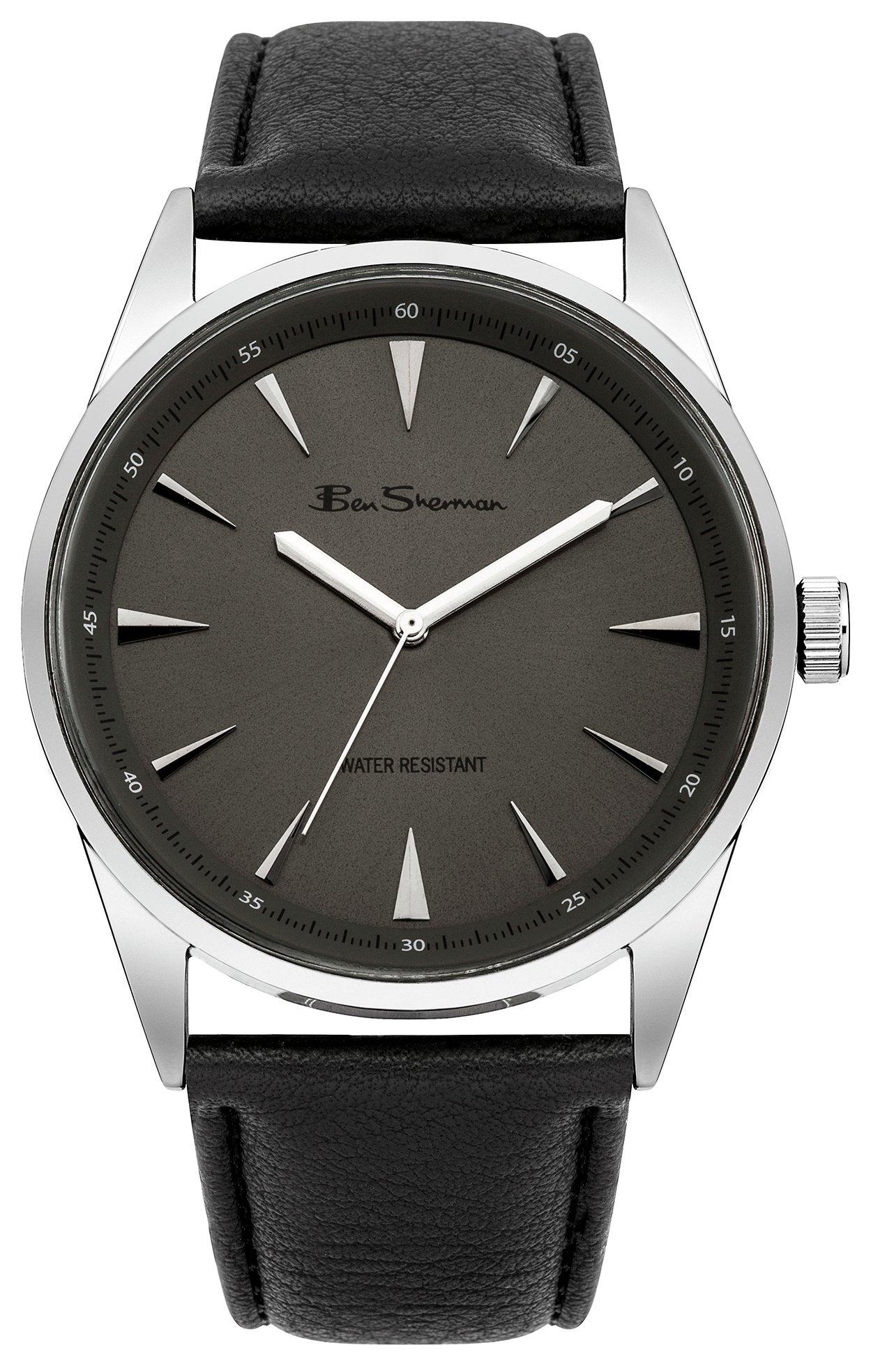Image of Ben Sherman Grey Dial Black Strap - Watch