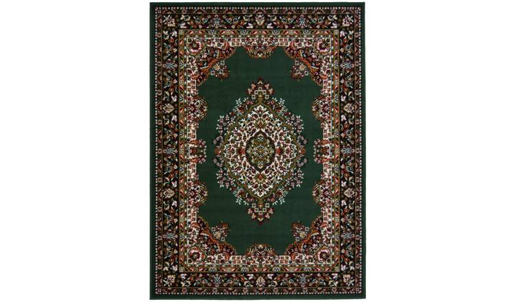 Maestro Traditional Rug - 240x340cm - Green.