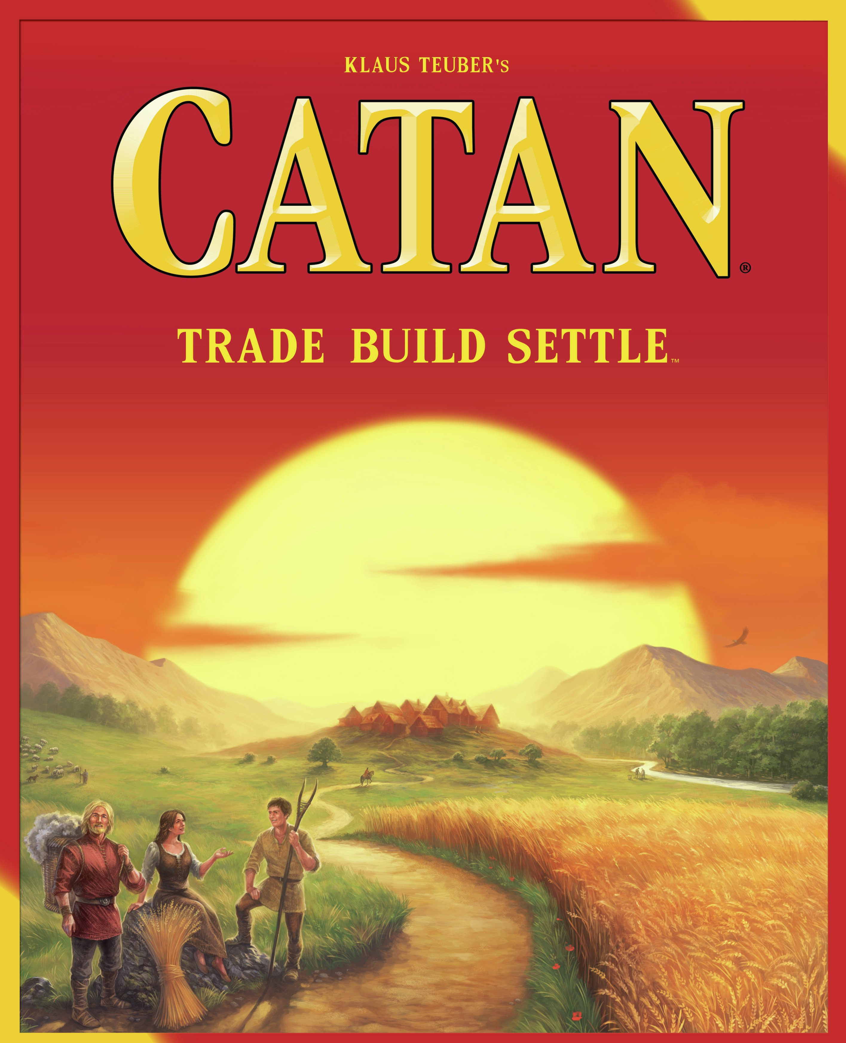 Image of Catan Game.