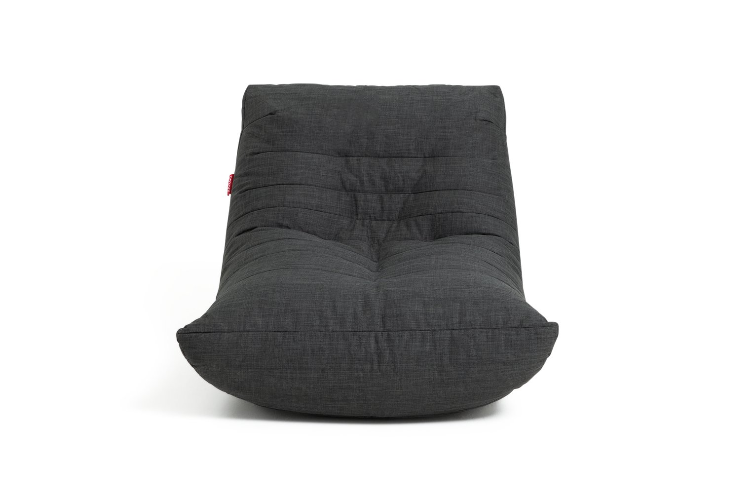 Argos Home Fabric Lounger Chair - Charcoal