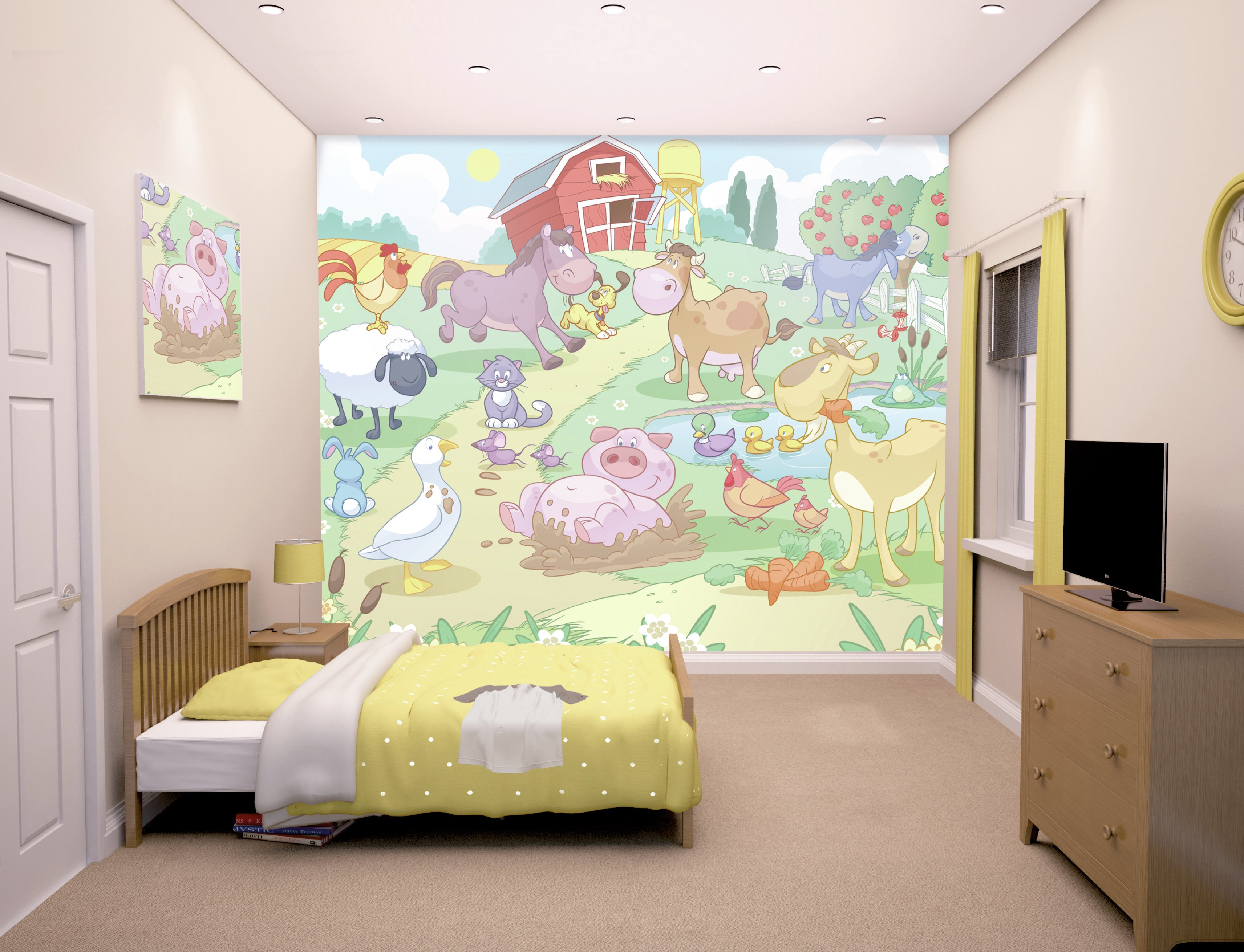 Pony Bedroom Accessories Buy Wall Murals Wallpaper At Argoscouk Your Online Shop For