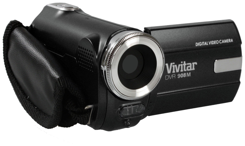 Vivitar DVR908M Full HD Camcorder - Black