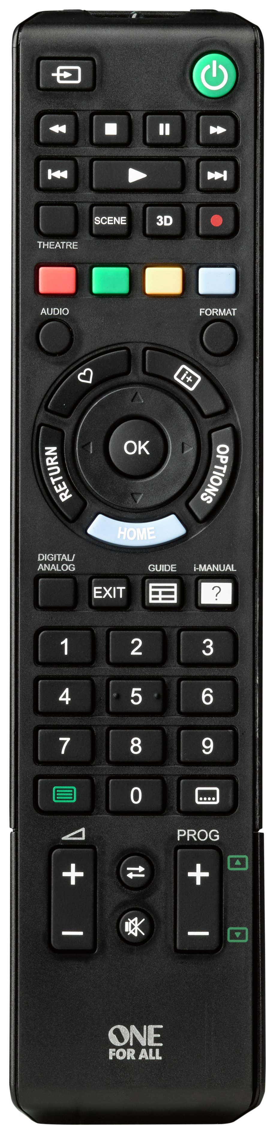 sony tv remote. one for all sony replacement remote tv argos