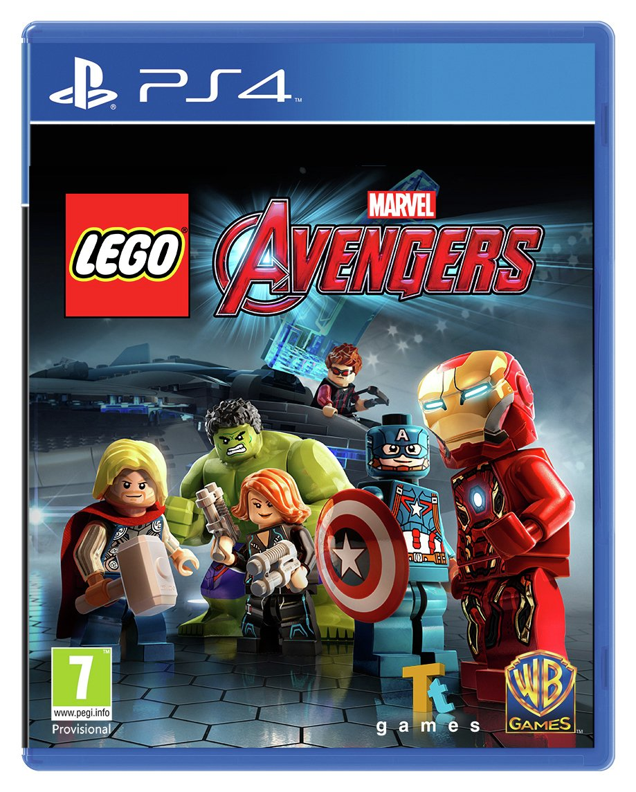 Buy LEGO Avengers Game - PS4 | PS4 games | Argos