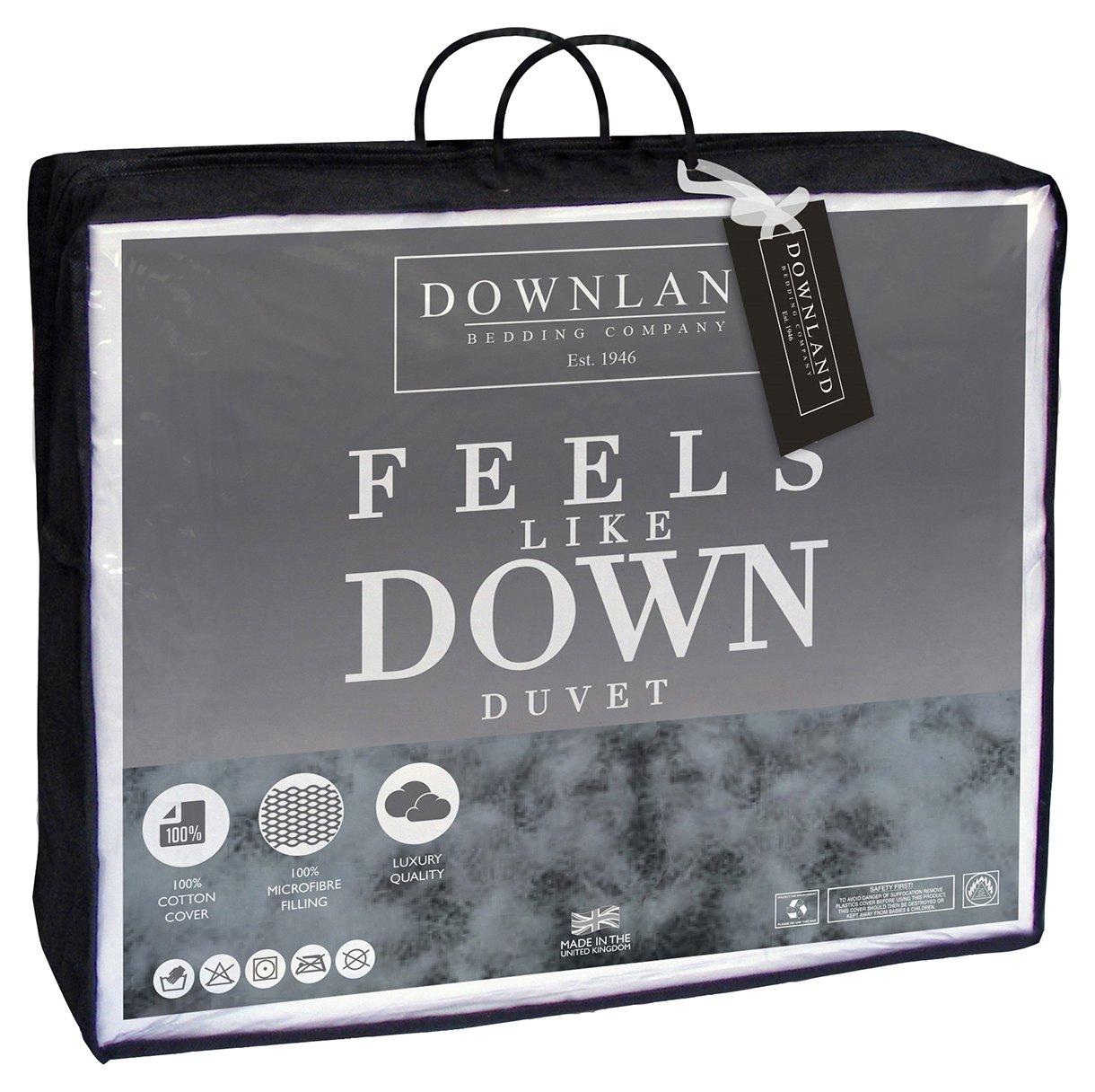 Image of Downland - 105 Tog Feels Like Down - Duvet - Kingsize