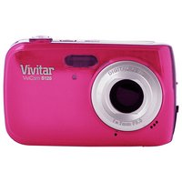 Vivitar - S126 16MP 4x - Zoom - Compact - Digital Camera - Pink
