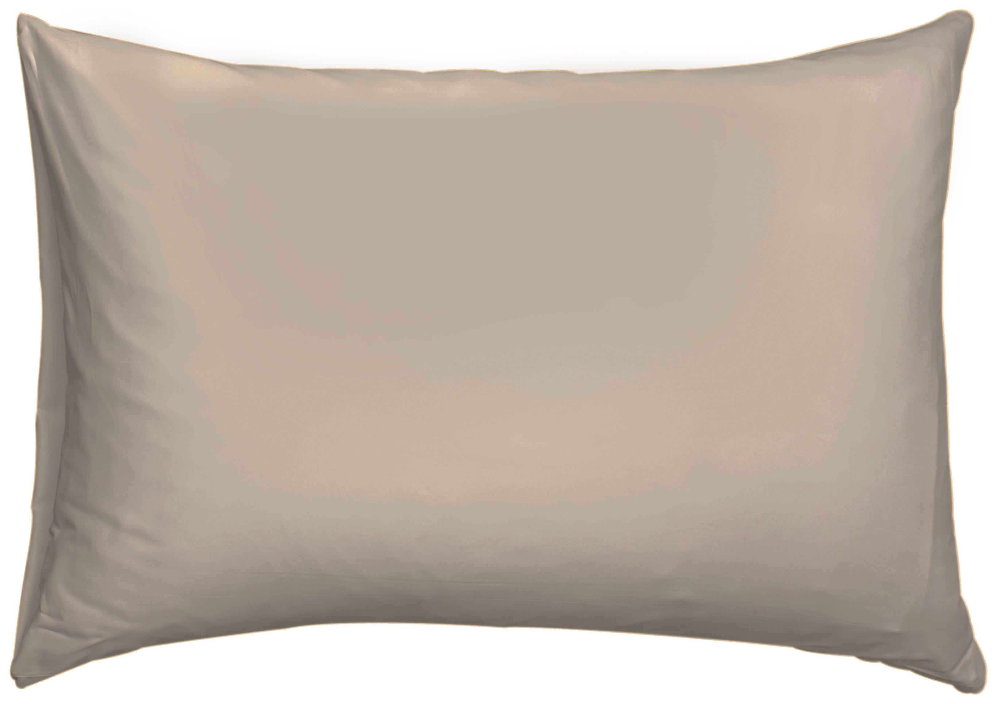downland  latte kingsize pillowcases  set of 2
