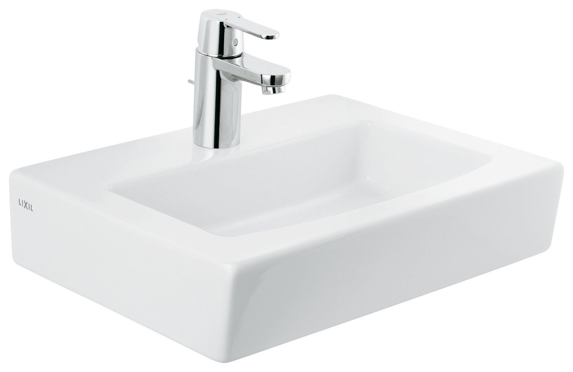 Grohe Get 45cm Square Basin Mixer Tap.