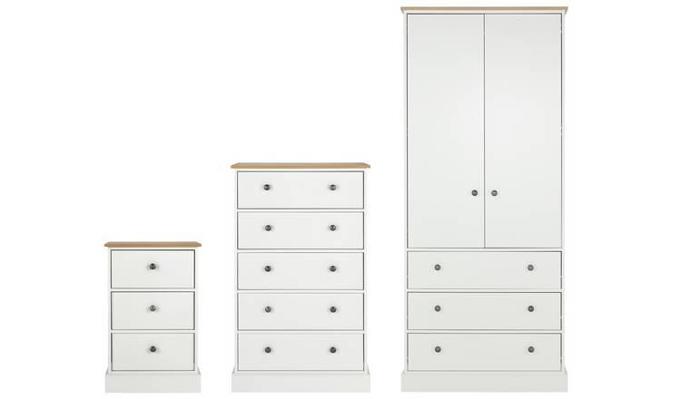 Buy Argos Home Kensington 14 Piece Wardrobe Set -Ivory/Oak Veneer  Bedroom  furniture sets  Argos