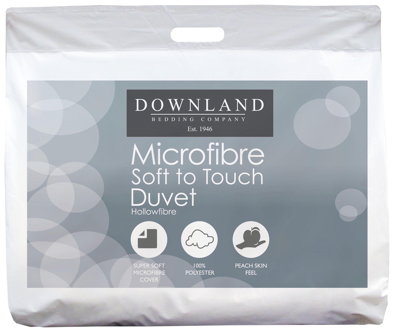 downland  1 tog microfibre  duvet  superking