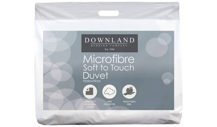 Downland Microfibre Anti-allergy 1 Tog Duvet - Superking