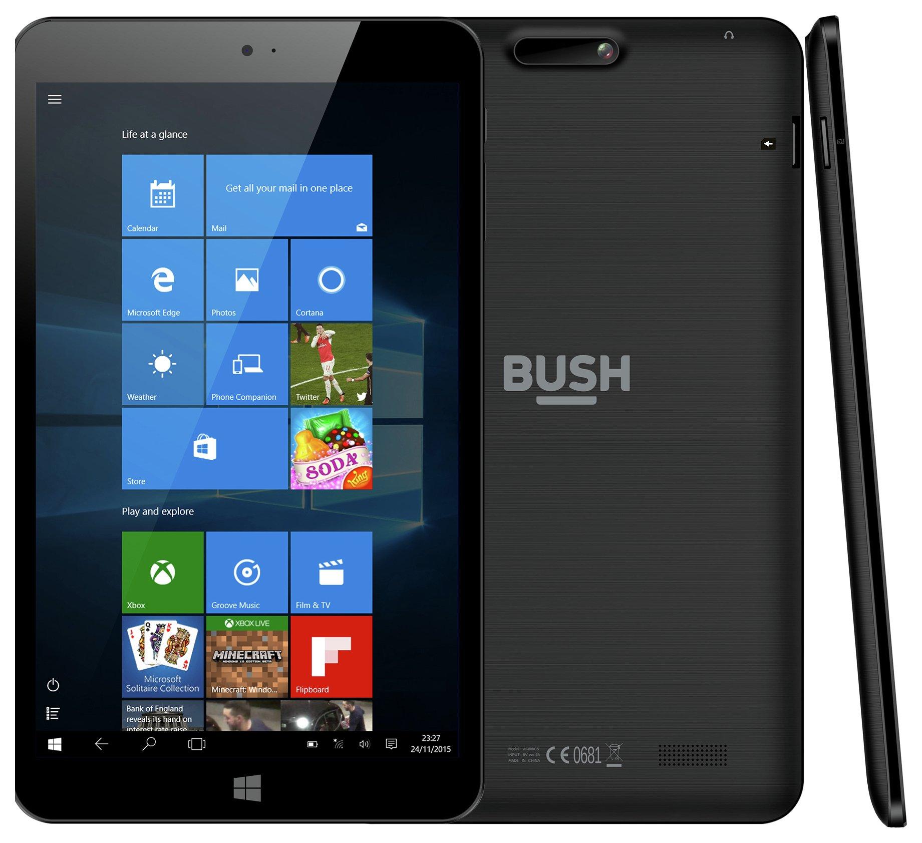 Bush Bush 8 MyTablet Windows 32GB - Black.