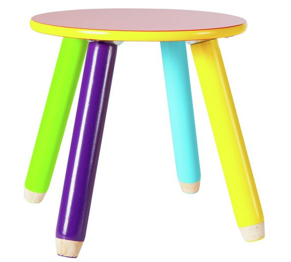 Argos Childrens Garden Table And Chairs: Buy HOME Pencil Table And 2 Chairs At Argos.co.uk