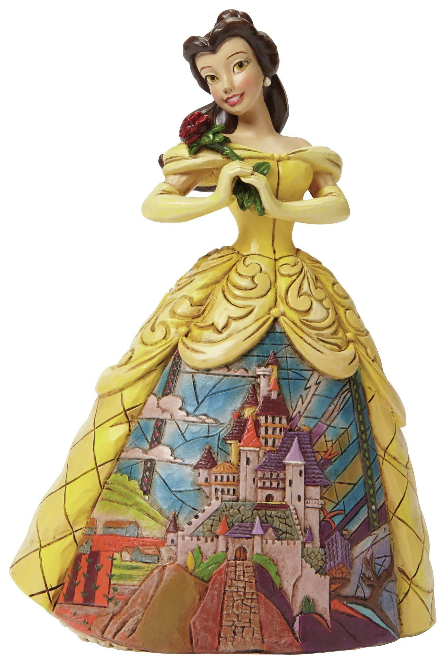 Image of Disney Traditions Enchanted Belle Ornament.