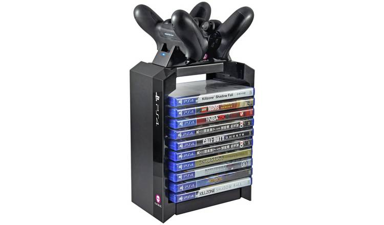 Sony Official Games Tower and Charging Station for PS4
