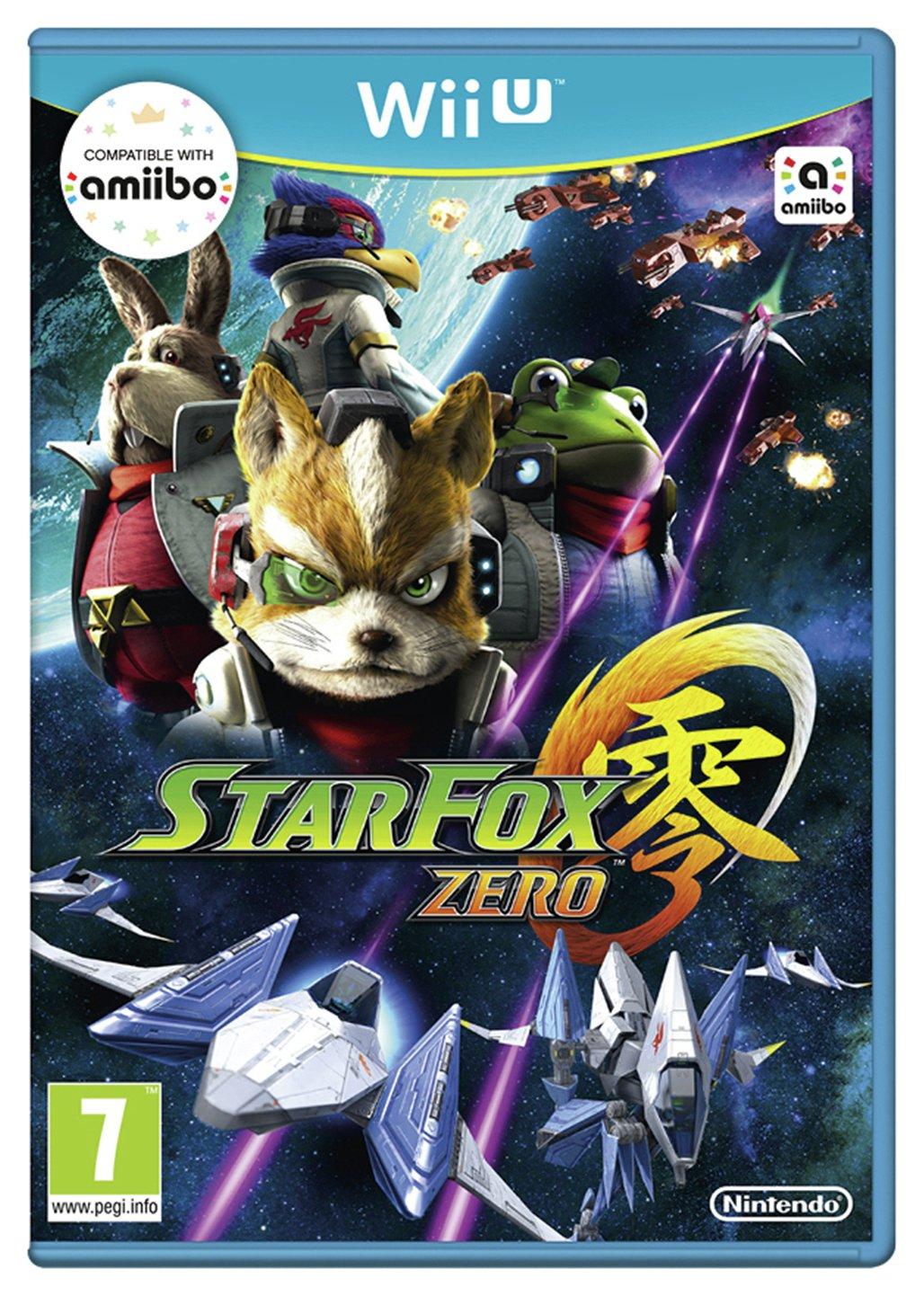 Nintendo Starfox Zero - Wii U Game