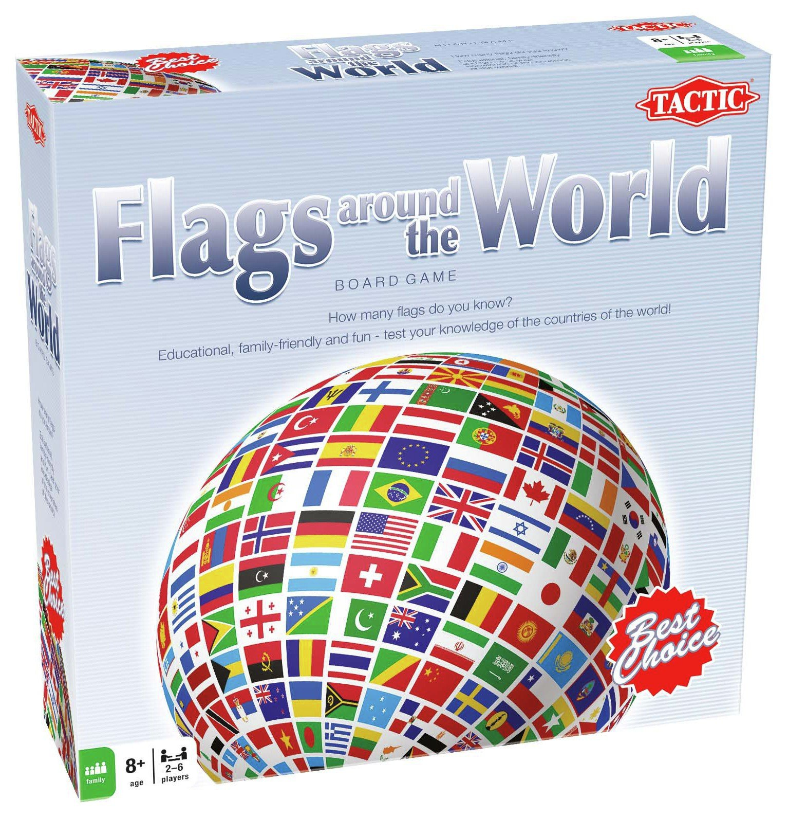 Tactic Games - Flags Around the World.