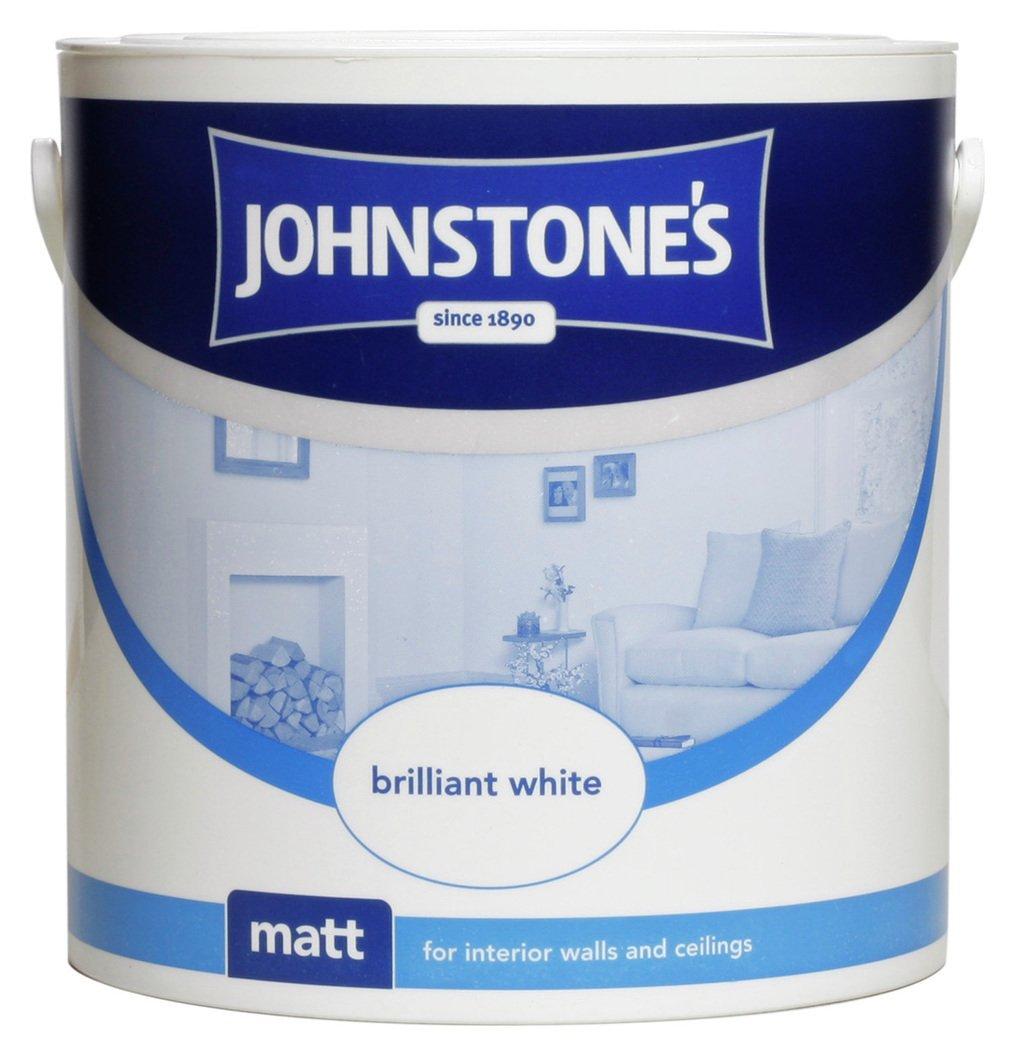 Johnstone's - Brilliant White Matt Emulsion 25L