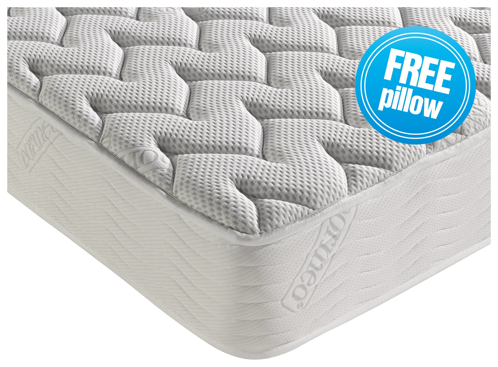 Dormeo Silver Plus Memory Foam Double Mattress