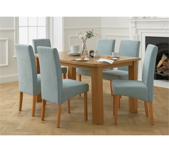 Buy Collection Stonebury Extending Table 6 Chairs