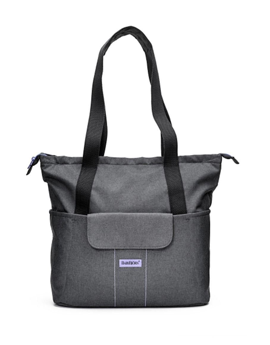 Image of BabyBjorn - Changing Bag SoFo - Grey/Lavender