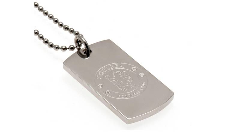 Stainless Steel Chelsea Dogtag and Chain.