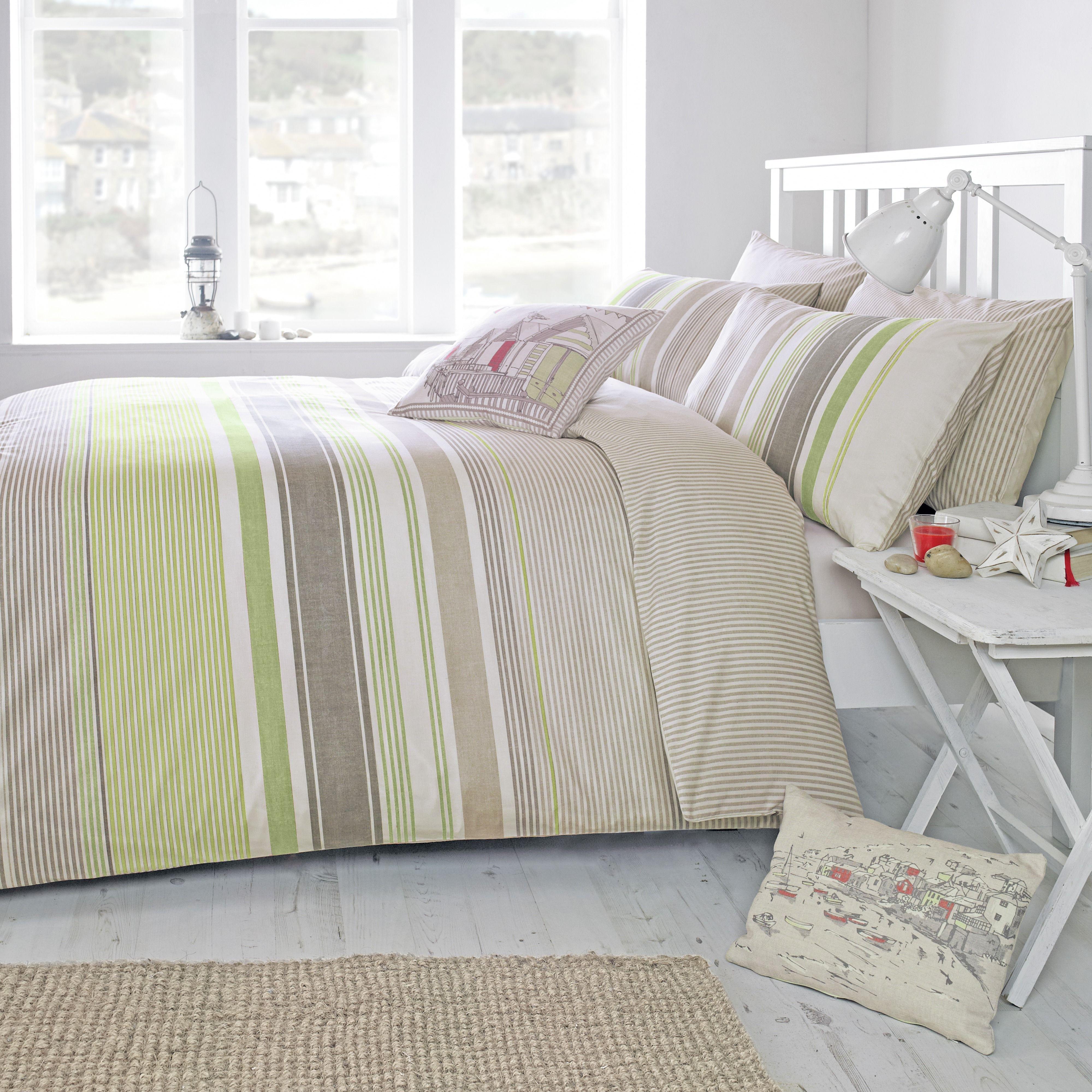 dreams n drapes  falmouth green  duvet cover  single