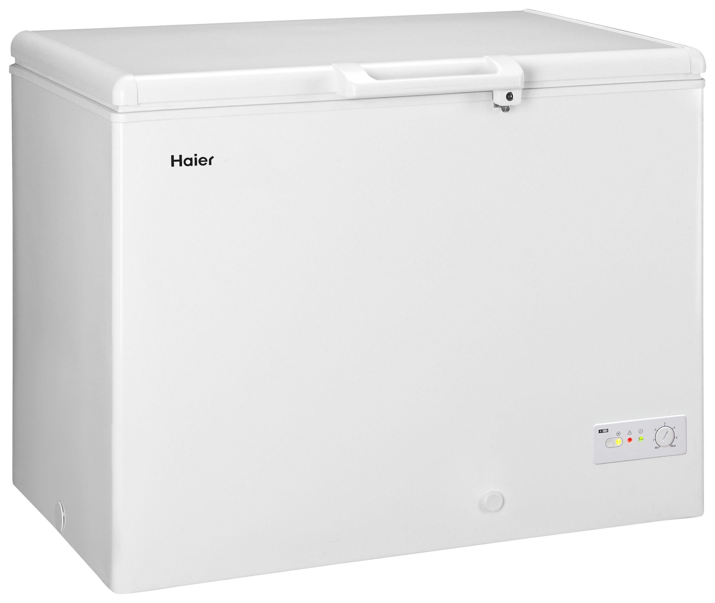 Image of Haier BD-319RAA Chest Freezer - White With Installation