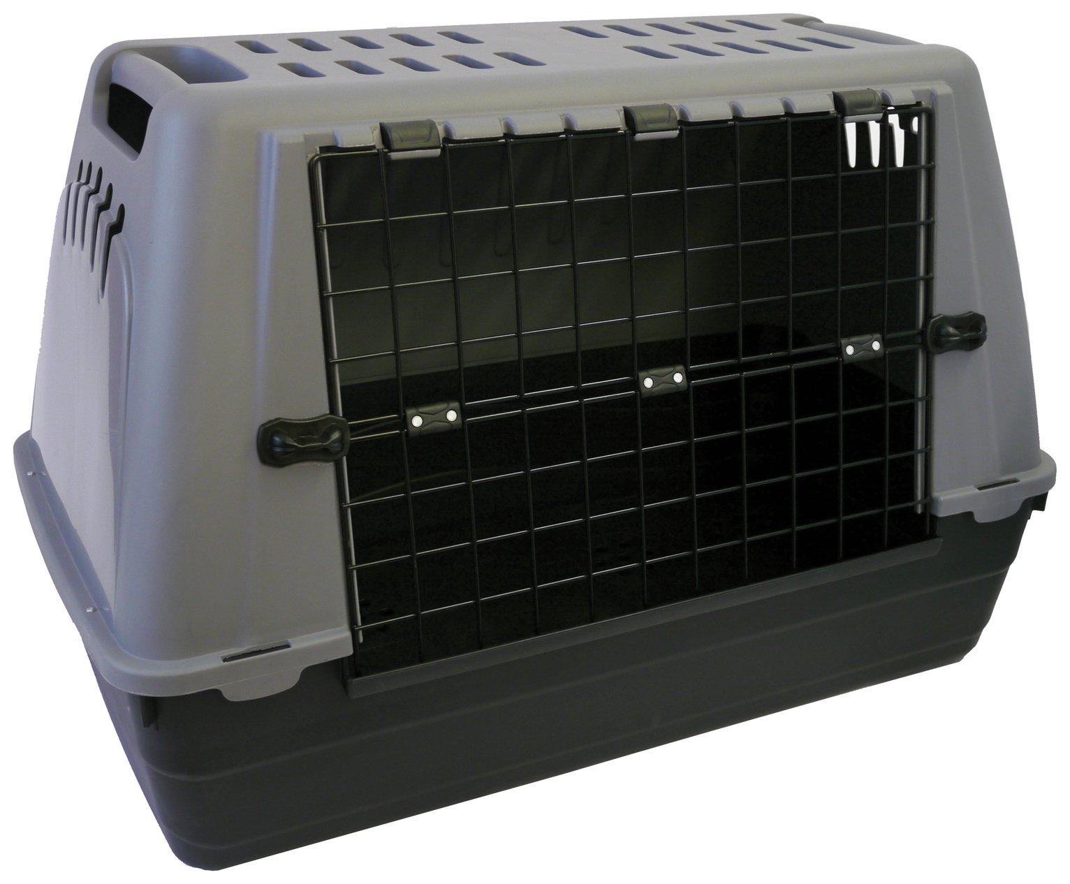 Image of Bracco - 80 Car Pet Carrier - Grey.