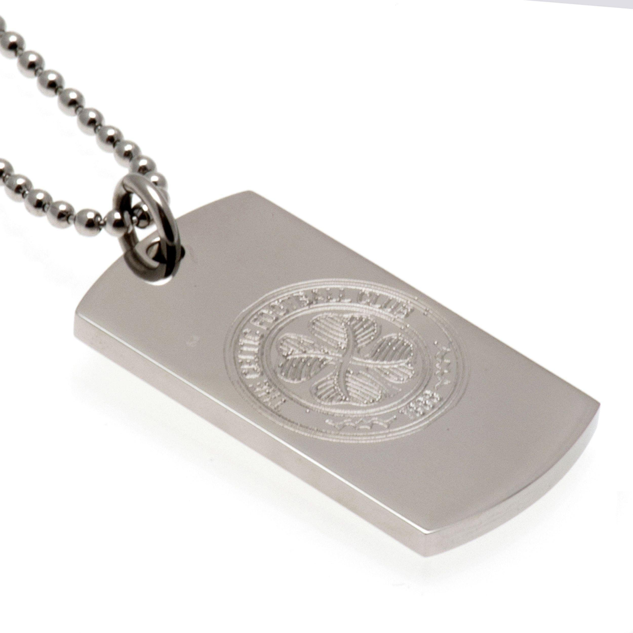 Image of Celtic - Stainless Steel - Dogtag and Chain