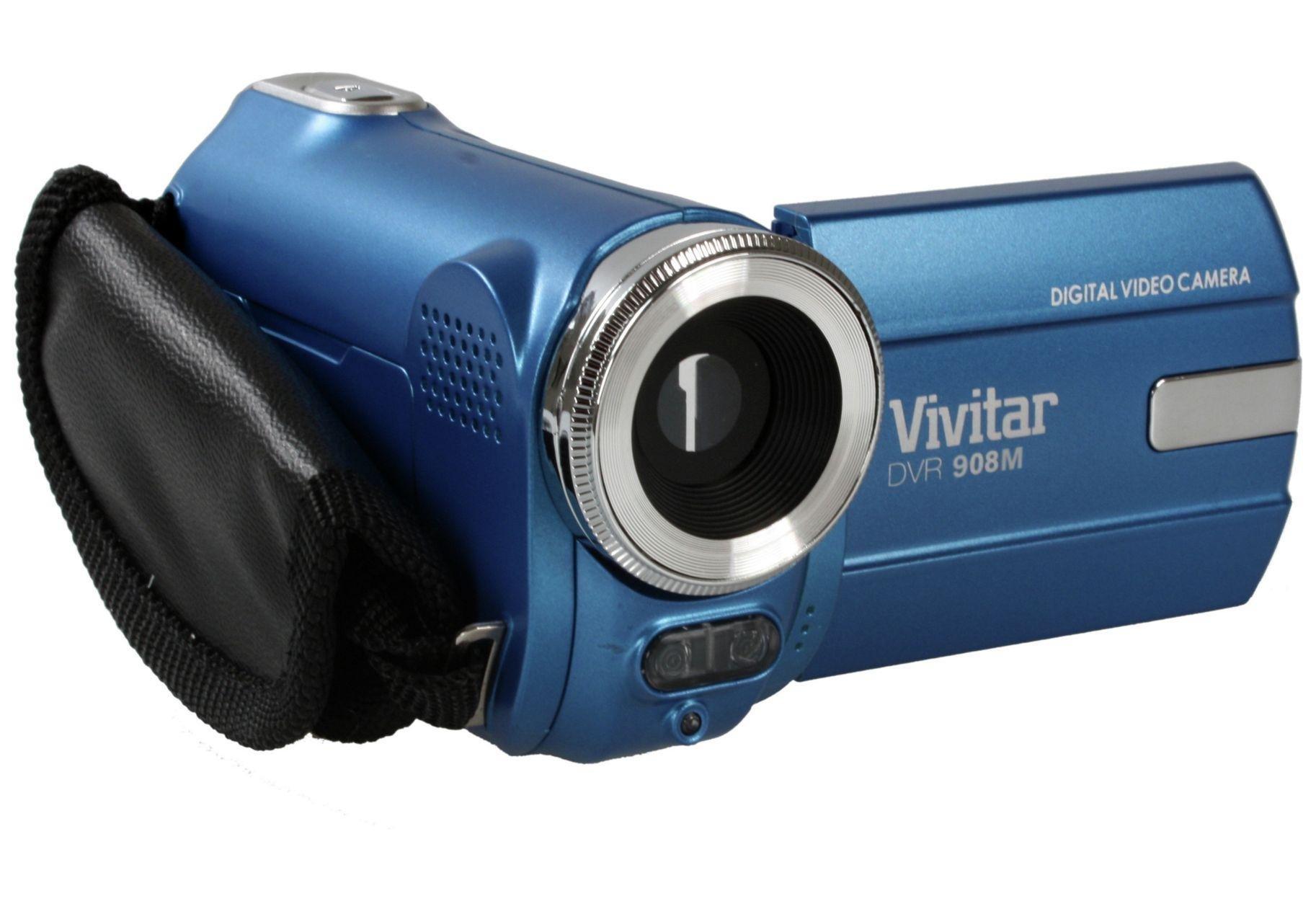 Vivitar - DVR908M Full HD Kids Camcorder - Blue