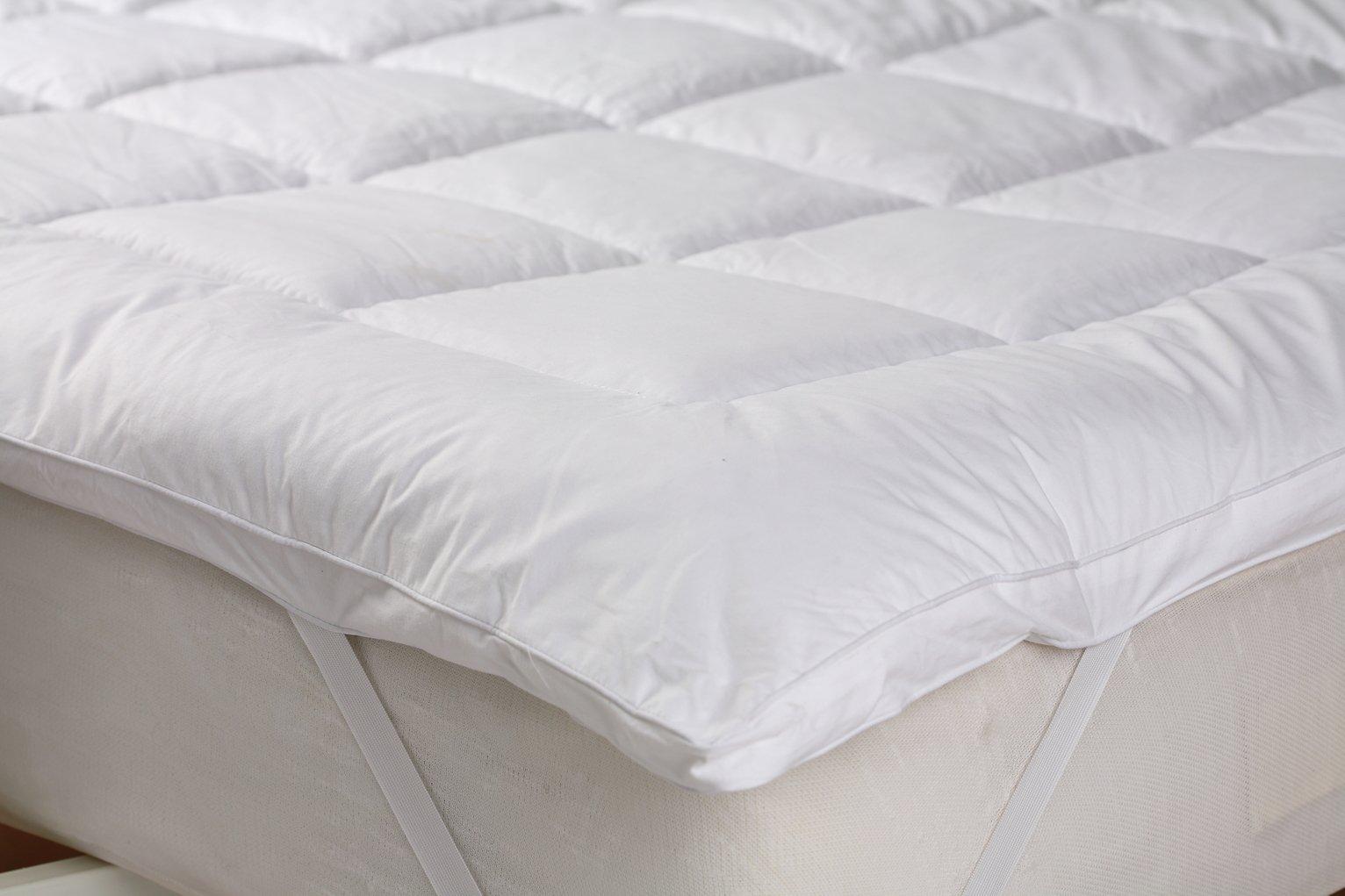 downland feels like down mattress topper kingsize