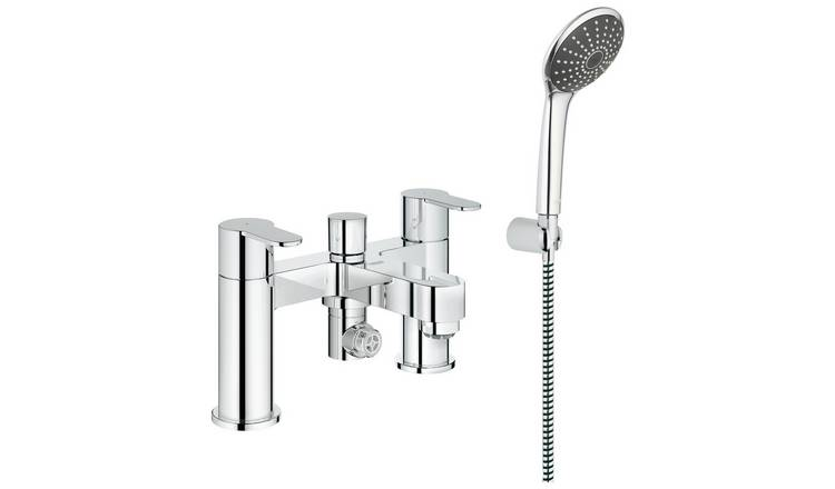 Grohe Wave Cosmopolitan Bath and Shower Mixer Set.
