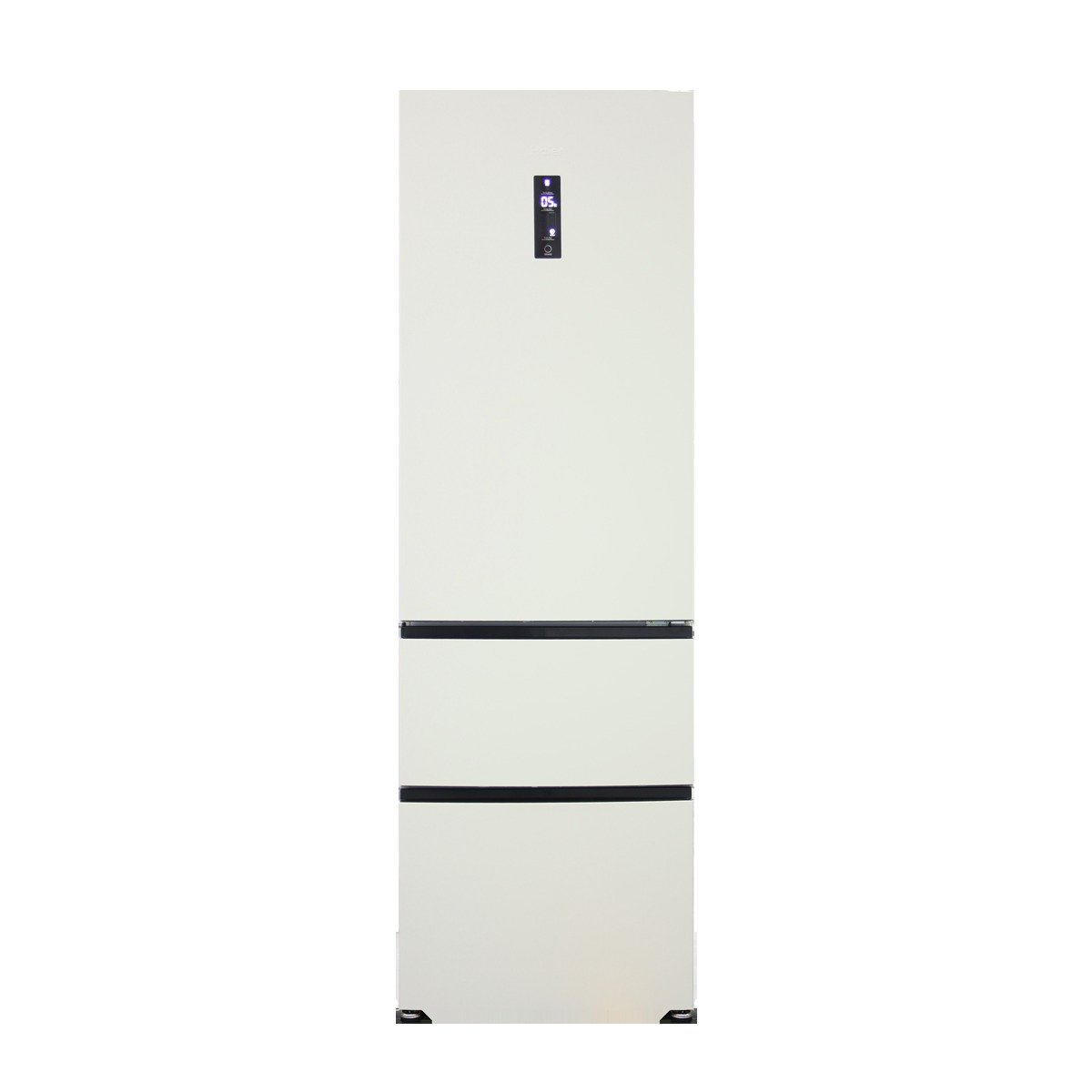 Image of Haier A2FE635CCJ American Fridge Freezer - Cream