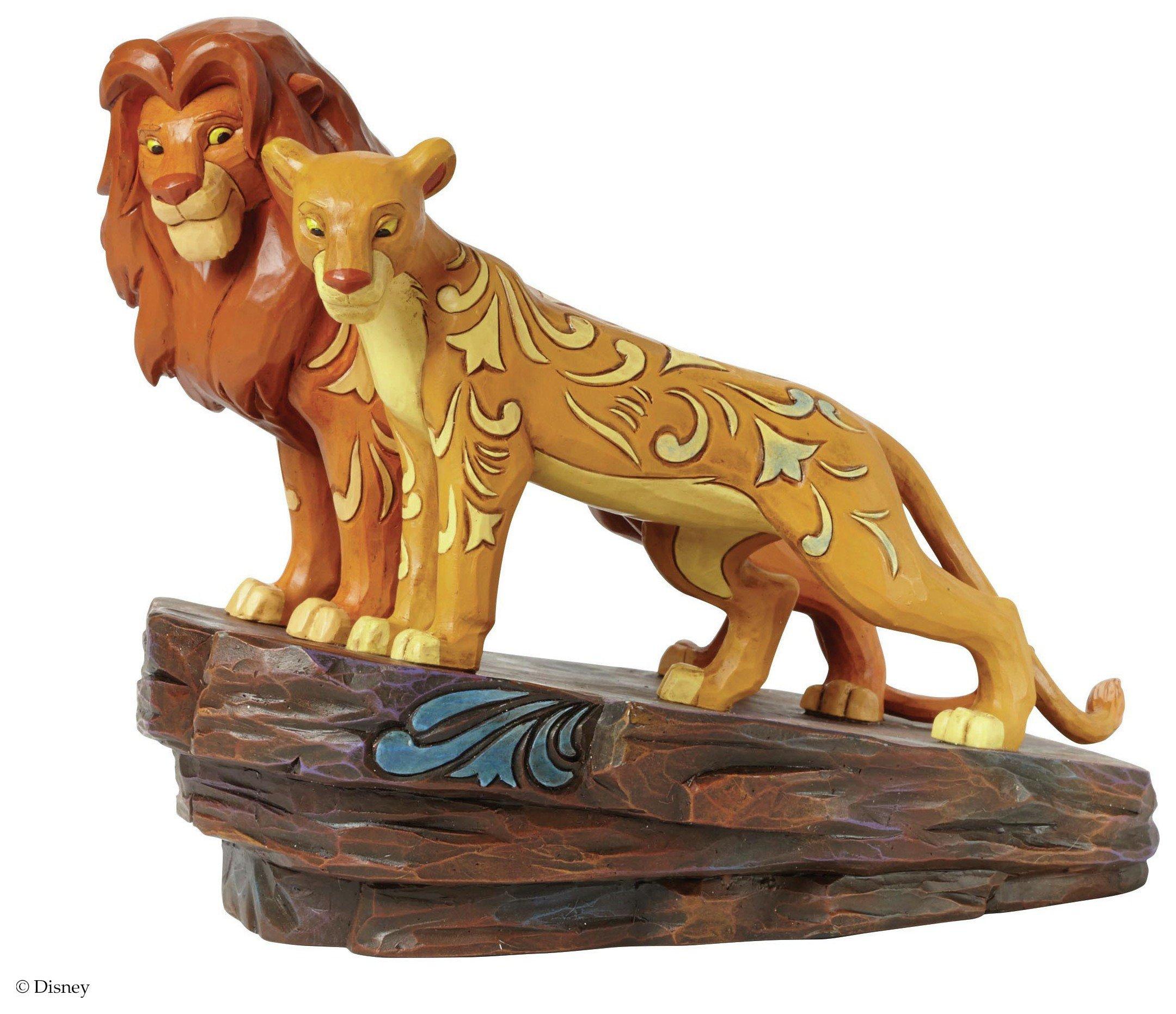 Disney - Traditions - Love at Pride Rock Simba and Nala - Figurine lowest price