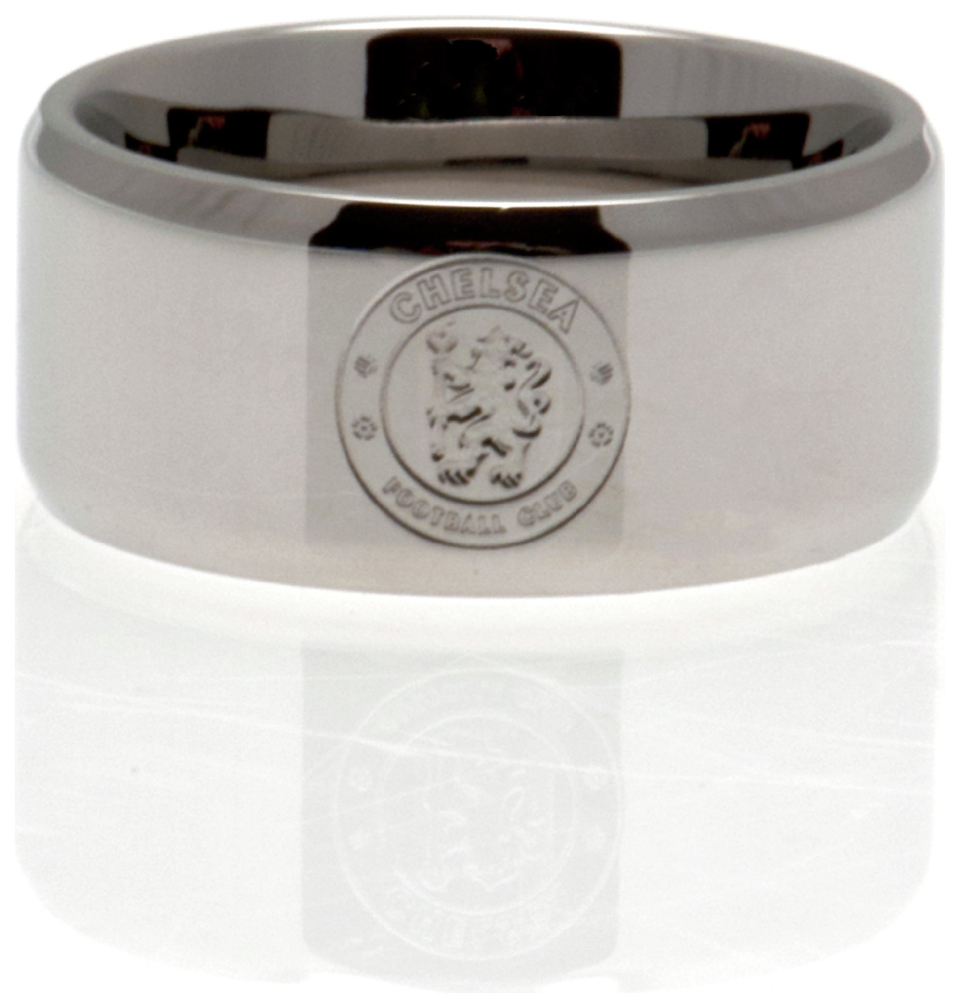 Stainless Steel Chelsea Ring - Size R.